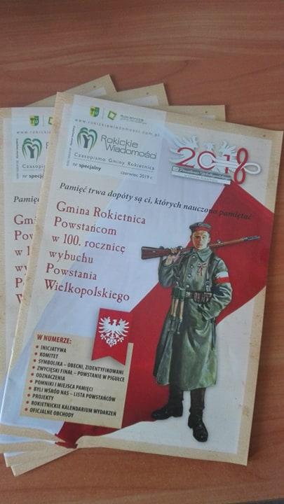 100 Rocznica Wybuchu Powstania Wielkopolskiego Rokietnica
